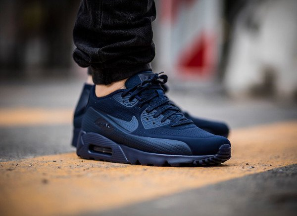 Nike Air Max 90 Ultra Moire Midnight Navy pas cher (2)