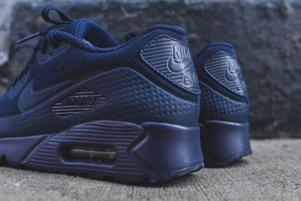 Nike Air Max 90 Ultra Moire bleu foncé (6)
