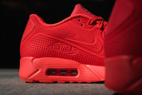 low priced 17166 cafe0 Nike Air Max 90 Ultra Moire rouge (6)