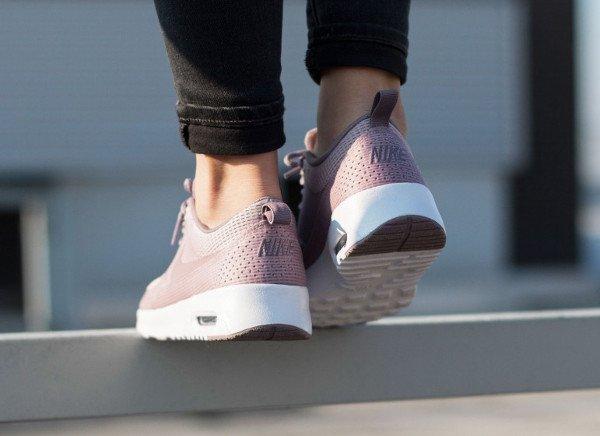 Nike Air Max Thea TXT Plum Fog pas cher (4)