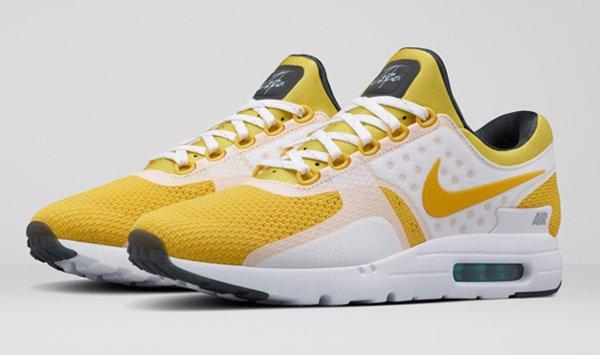 Nike Air Max Zero Yellow White