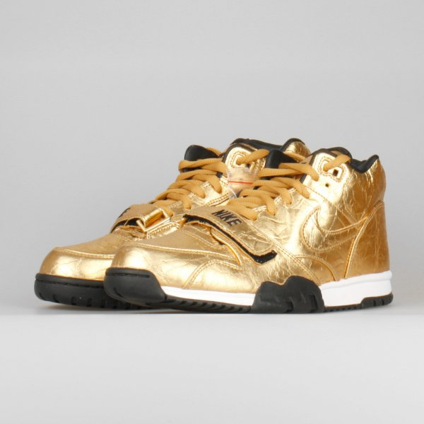 Nike Air Trainer 1 Mid PRM QS SB50 Metallic Gold (1)