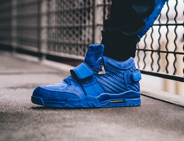 Nike Air Trainer V Cruz Rush Blue pas cher (2)