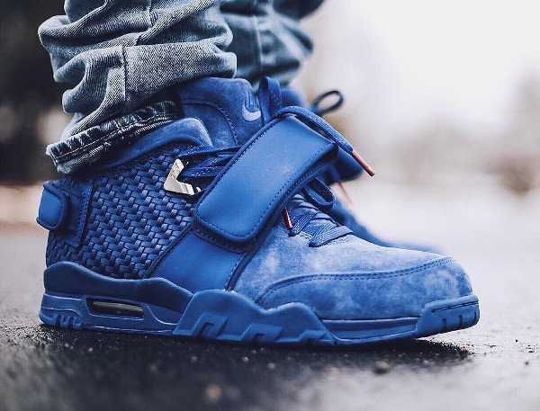 Nike Air Trainer V Cruz Rush Blue pas cher (4)