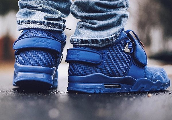 Nike Air Trainer V Cruz Rush Blue pas cher (6)