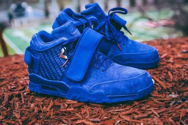 Nike Air Trainer Victor Cruz bleue Rush Blue Gym Red (1)
