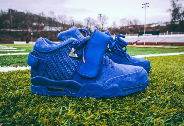 Nike Air Trainer Victor Cruz bleue Rush Blue Gym Red (2)