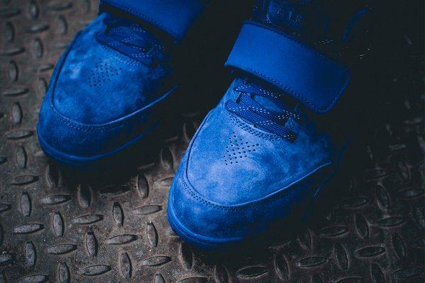 Nike Air Trainer Victor Cruz bleue Rush Blue Gym Red (3)
