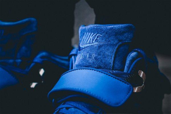 Nike Air Trainer Victor Cruz bleue Rush Blue Gym Red (4)