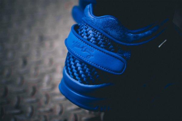 Nike Air Trainer Victor Cruz bleue Rush Blue Gym Red (5)