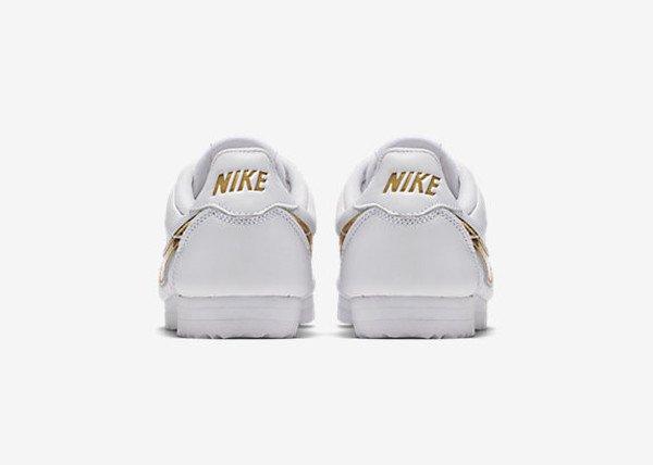 Nike Cortez QS White Metallic Gold (4)