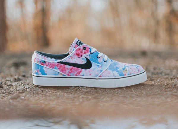 Nike SB Janoski Canvas Cherry Blossom Dynamic Pink pas cher (2)