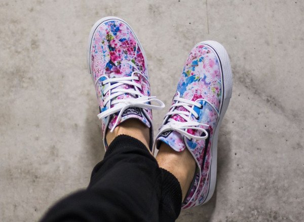 Nike SB Janoski Canvas Cherry Blossom Dynamic Pink pas cher (4)