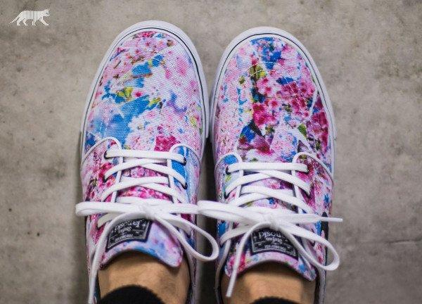 Nike SB Janoski Canvas Cherry Blossom Dynamic Pink pas cher (5)