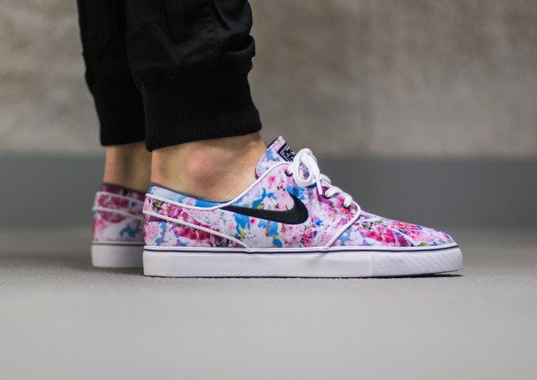 Nike SB Janoski Canvas Cherry Blossom Dynamic Pink pas cher (6)