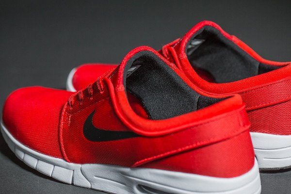 Nike SB Janoski Max University Red (rouge) (5)
