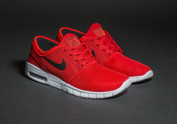 Nike SB Janoski Max University Red (rouge) (7)
