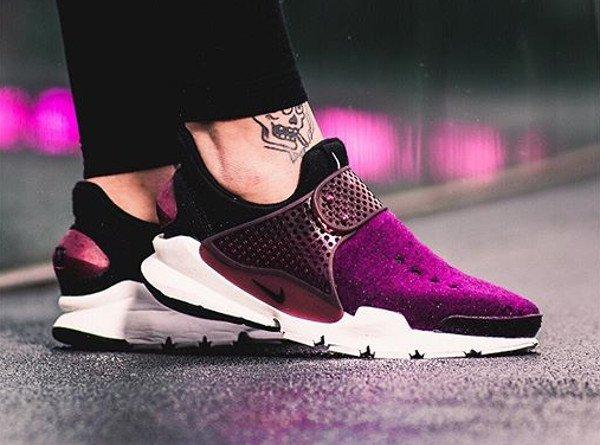 Nike Sock Dart Fleece Mulberry - @julesiswasted (1)