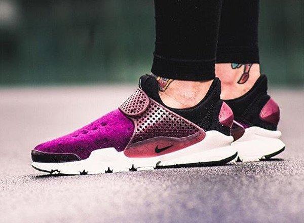 Nike Sock Dart Fleece Mulberry - @julesiswasted
