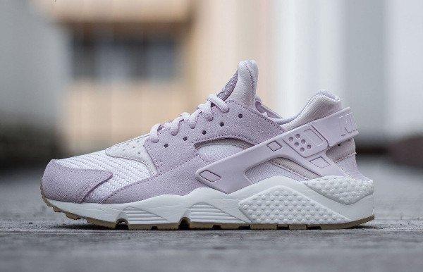 Nike Wmns Air Huarache Textile Bleached Lilac (4)