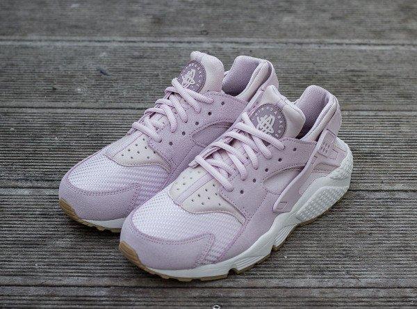 Nike Wmns Air Huarache Textile Bleached Lilac (8)