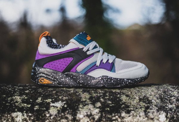 Puma Blaze Of Glory (gray violet blue coral amaranth purple apricot) (1)