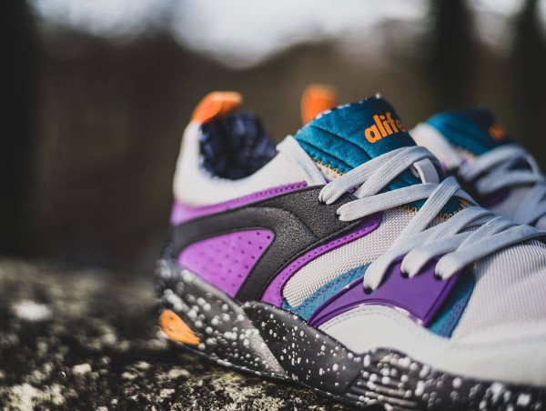 Puma Blaze Of Glory (gray violet blue coral amaranth purple apricot) (2)