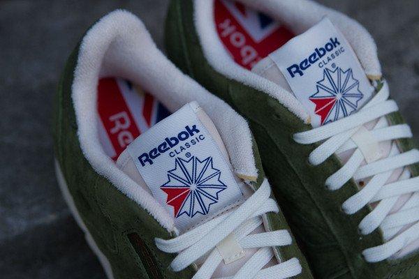 Reebok CL Leather Clean UJ Canopy Green (1)