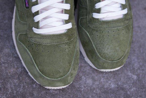 Reebok CL Leather Clean UJ Canopy Green (2)