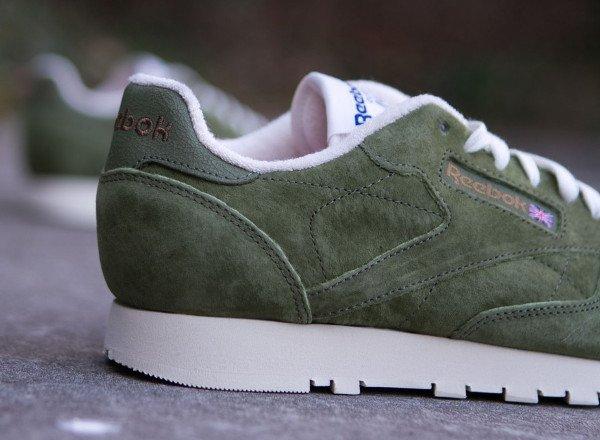 Reebok CL Leather Clean UJ Canopy Green (3)