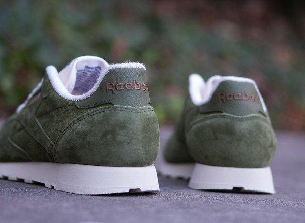 Reebok CL Leather Clean UJ Canopy Green (4)