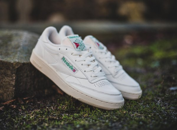 Reebok Club C 85 Vintage OG Chalk White Green 2016 (1)