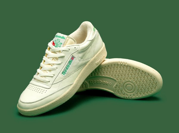 Reebok Club C 85 Vintage OG Chalk White Green 2016 (2)