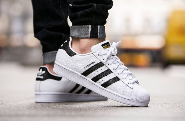 acheter Adidas Superstar Animal White Black Gold pas cher (4)