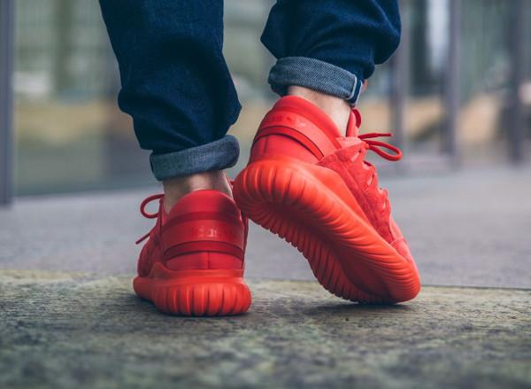 adidas tubular nova rouge