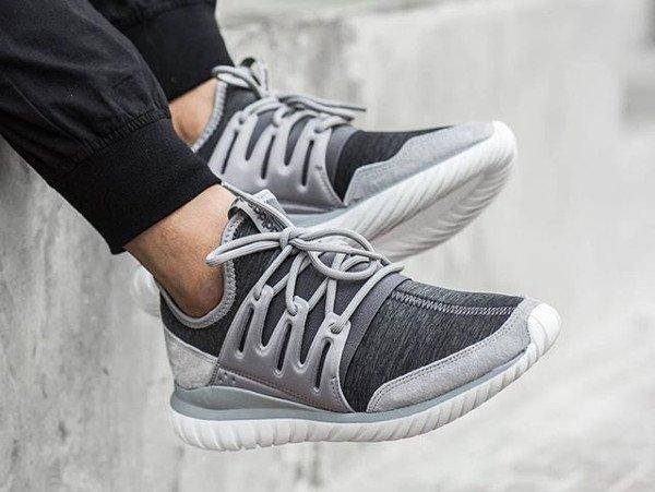 best sneakers 6ac56 2f20b acheter Adidas Tubular Radial Solid Grey Granite pas cher (1)