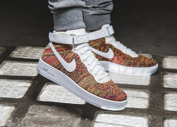 acheter Nike Air Force 1 Ultra Flyknit Multicolor pas cher (1)