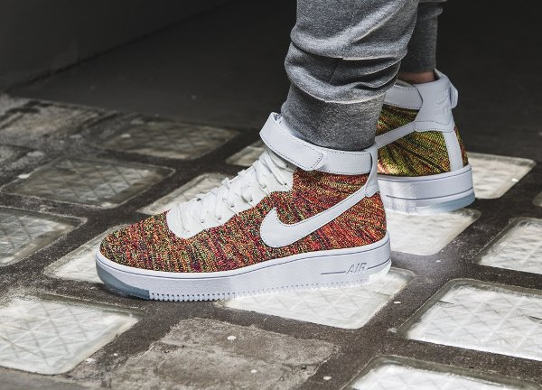 acheter Nike Air Force 1 Ultra Flyknit Multicolor pas cher (3)
