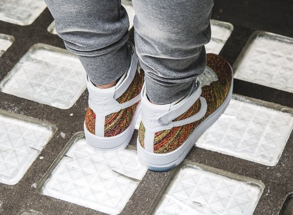 acheter Nike Air Force 1 Ultra Flyknit Multicolor pas cher (4)