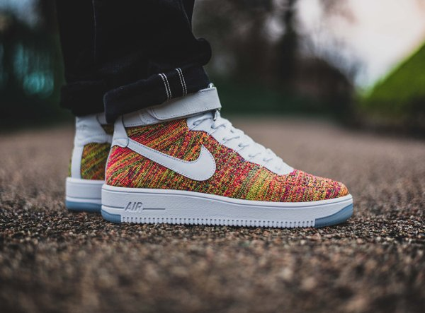 acheter Nike Air Force 1 Ultra Flyknit Multicolor pas cher (5)