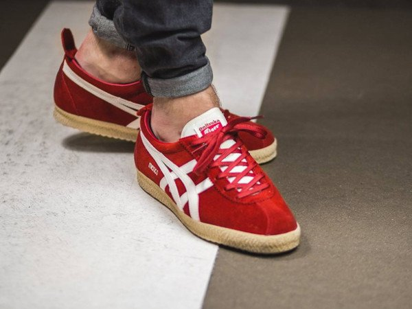 acheter Onitsuka Tiger Mexico Delegation Red Slight White pas cher