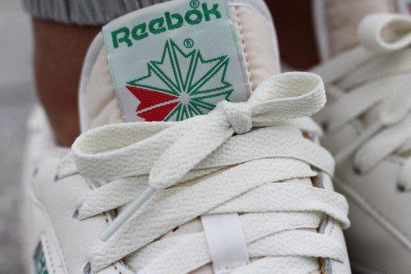 acheter Reebok Club C 85 Vintage OG White Green 2016 pas cher (6)