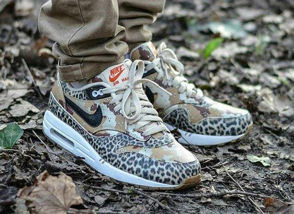 2013 Atmos x Nike Air Max 1 Animal Camo Leopard - @houdelaly