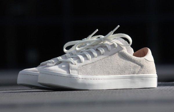 Adidas Court Vantage Vintage White Dust Pearl (1)