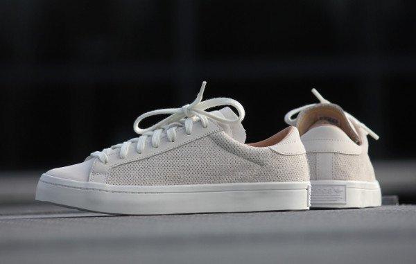 Adidas Court Vantage Vintage White Dust Pearl (4)