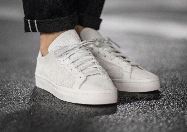 Adidas Court Vantage White Dust Pearl pas cher (1)