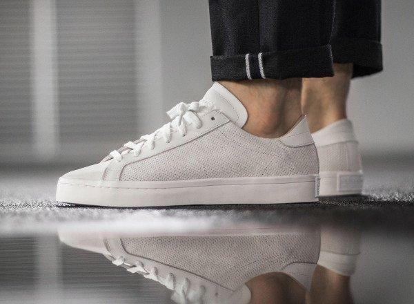 Adidas Court Vantage White Dust Pearl pas cher (2)
