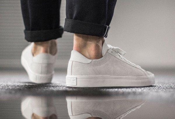 Adidas Court Vantage White Dust Pearl pas cher (3)