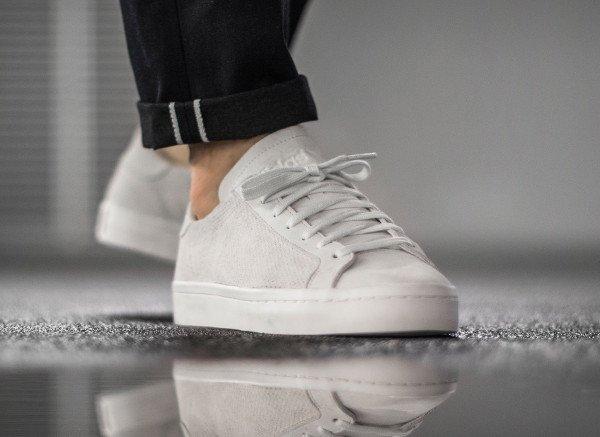 Adidas Court Vantage White Dust Pearl pas cher (4)
