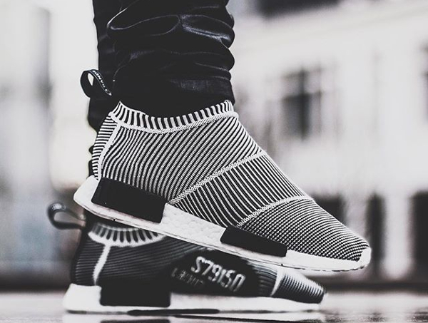 Adidas NMD CS1 City Sock Primeknit Boost 'Black/White'
